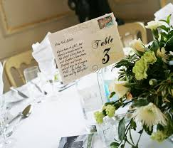 Wedding Table Numbers Ideas 5 Creative Table Number Ideas Smashing The Glass Jewish