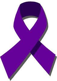 purple ribbons purple ribbon caign spotlights domestic violence hudson valley