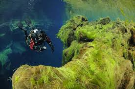 dry suit diver course dive is iceland