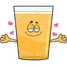 cartoon beer cartoon pint of beer hug by cory thoman toon vectors eps 67545