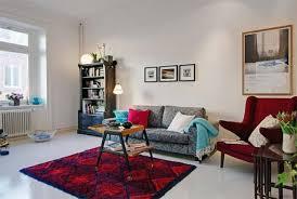 studio apt decor apartment mind blowing living room decoration with white parquet