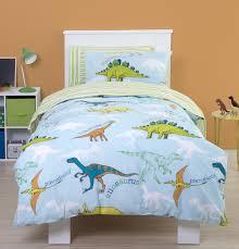 Junior Cot Bed Duvet Set Bedding Set Toddler Bed Bedding Wonderful Dinosaur Toddler