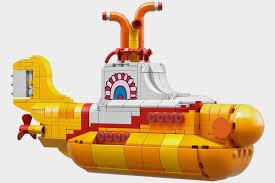Bathtub Submarine Toy Lego Yellow Submarine Set