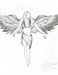 sketches of angels best 20 angel drawing ideas on pinterest