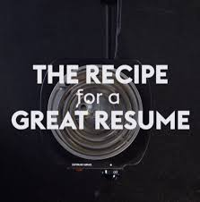 Monster Resumes Search The Recipe For A Great Resume Monster Youtube
