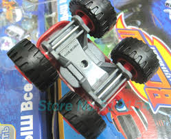 6pcs lot blaze monster machines car toys transformation racing