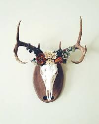 deer home decor awesome deer crown a european mount home decor ideas awesome deer