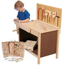 Kids Work Bench Plans Workbench Tools And Goggles For Kids 15 Piece At Cptoys Com