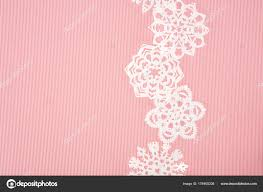 decorative paper christmas background decorative paper snowflakes pink stock photo