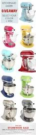 Kitchen Aid Colors by It U0027s A Giveaway Kitchenaid Artisan Stand Mixers Win 1 Of 5
