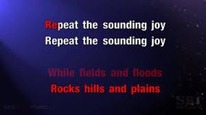 joy to the world karaoke hd in the style of christmas carols