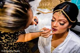 bridal makeup artist nyc indian getting ready indian bridal makeup in carle place