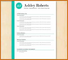 7 resume template au budget reporting