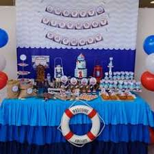 anchor theme baby shower nautical baby shower anchors away baby shower catch my party