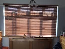 wooden window blinds 220 width excellent condition made by