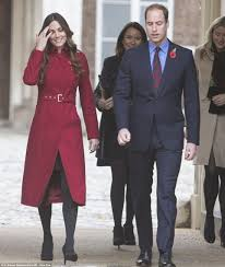 where do prince william and kate live kate middleton recycles lk bennett red coat in anglesey with in