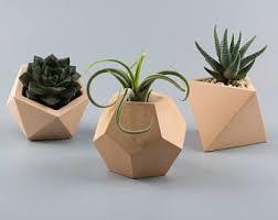 geometric concrete planter concrete planter planter