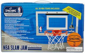 mini panier de basket chambre spalding nba slam jam board teams 56 100cn mini planche réplica