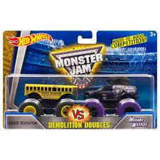 hotwheels monster jam trucks wheels monster jam demolition doubles higher education vs