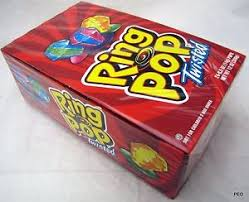 ring pops twisted 24 count candies bulk lollipop lollipops topps