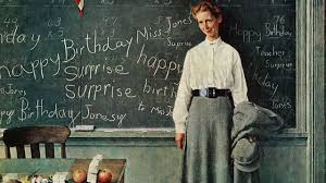 norman rockwell paintings in song happy birthday miss jones