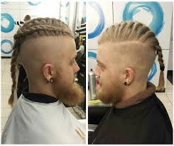 ragnar lothbrok hair man braid hairstyle guide new braided man bun trend man bun hairstyle