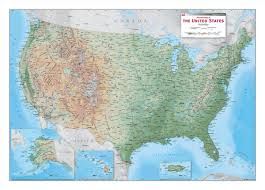 us map equator physical wall map of the us by equator maps