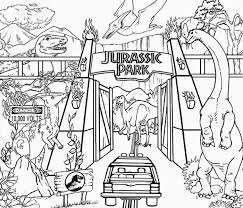 jurassic park coloring page jurassic world coloring pages free