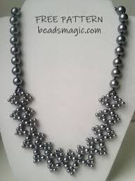 beading necklace designs images Necklace patterns jpg