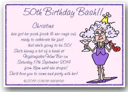 fun birthday party invitations templates ideas funny 50th