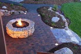 Circular Paver Patio Simple Circular Paver Patio With Pit For Garden Antiquesl