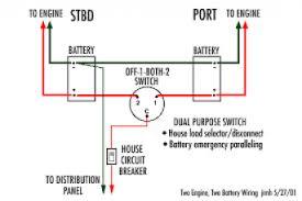 24v to 12v dual battery isolator switch wiring diagram isolator