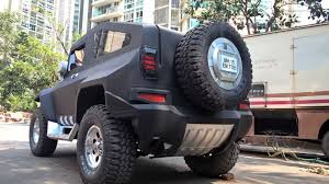 indian jeep modified hummer modified on thar 9833395881 youtube