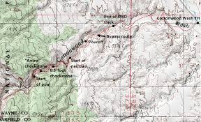 capitol reef national park map cottonwood wash capitol reef national park ut live and let hike