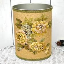 festoon waste paper bin antique wood sitting rooms and upholstery