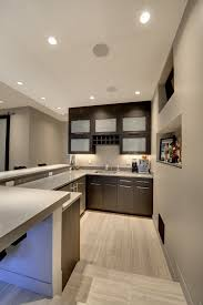 Wood Flooring For Basement Grey Wood Flooring Basement Contemporary With None
