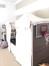 kura hack ideas bedroom ikea kura hack diy boy canopy harlow thistle home