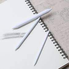 3 6pcs set rubber double head dedicated sketch paper pen pastel