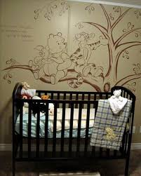 Nursery Wall Mural Decals Winnie The Pooh Bedroom Wallpaper 2d54bc6368de237809b6861fd0fac2ee