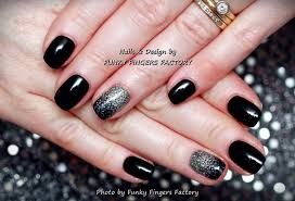 gelish glitter ombre nails funky fingers factory
