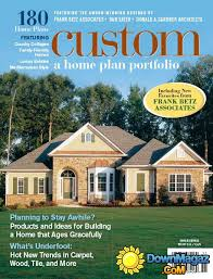 Home Plan Magazines Custom Home Magazine