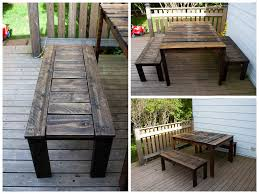 outdoor patio set made with recycled wooden pallets u2022 1001 pallets