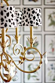 chandelier shades diy spotted chandelier shades dimples and tangles