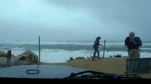 hurricane sandy at a cape cod beach youtube