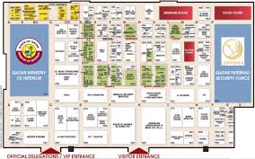 Security Floor Plan Milipol Qatar 2016 Floor Plan International Exhibition Of