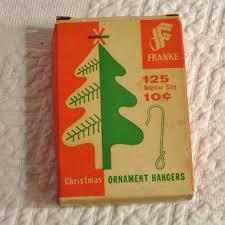 vintage box set ornament hanger hooks by franke we