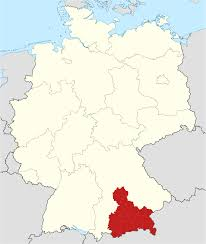 Map Of Germany With Cities And Towns In English by Upper Bavaria Wikipedia