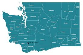 Washington State Map Clipart 35 by Usa Maps Solution Conceptdraw Com