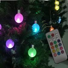 pretty wireless plastic led colorful lights tree