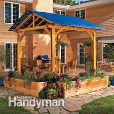 Pergola Coverings For Rain by Add A Pergola Cover For Extra Protection Family Handyman